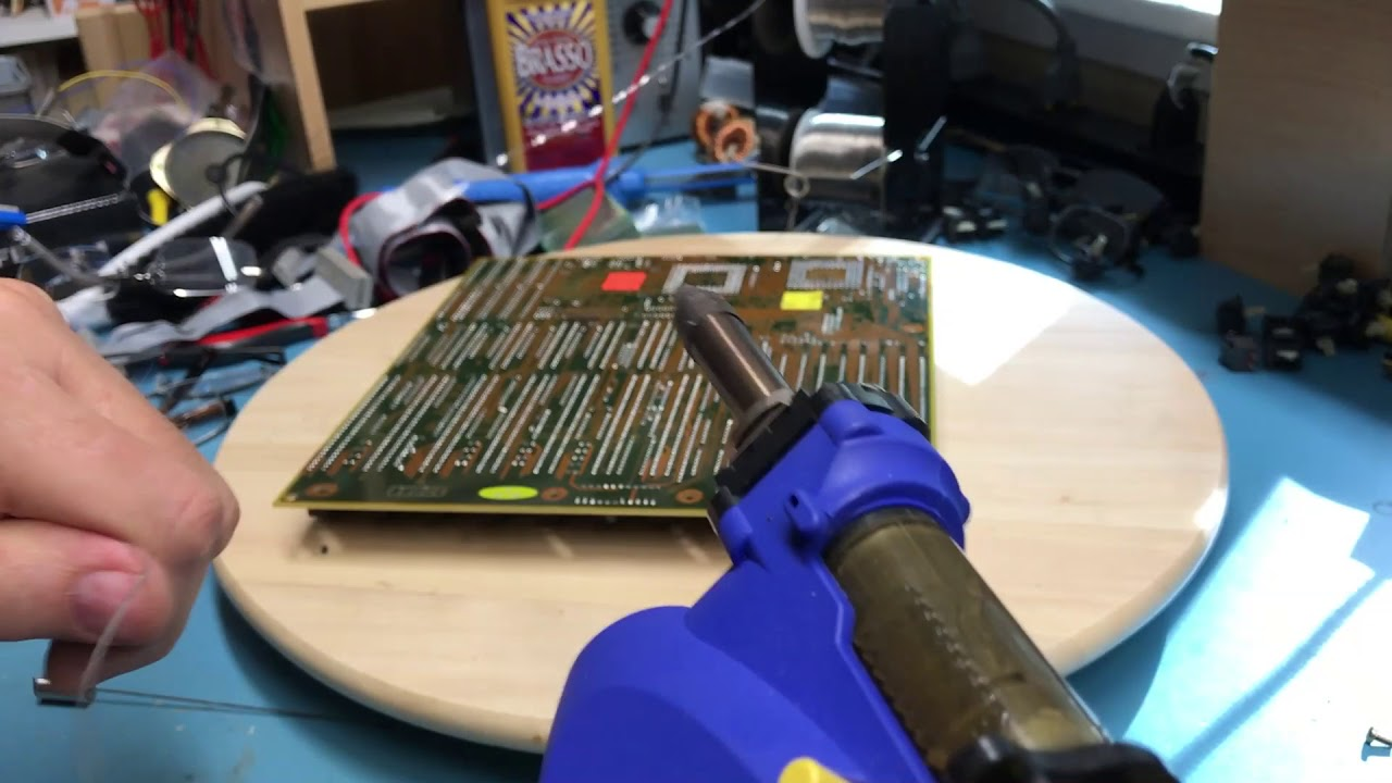 IBM 386 - Part 3 - 80386 computer build - Tantalum capacitor fail - STB85