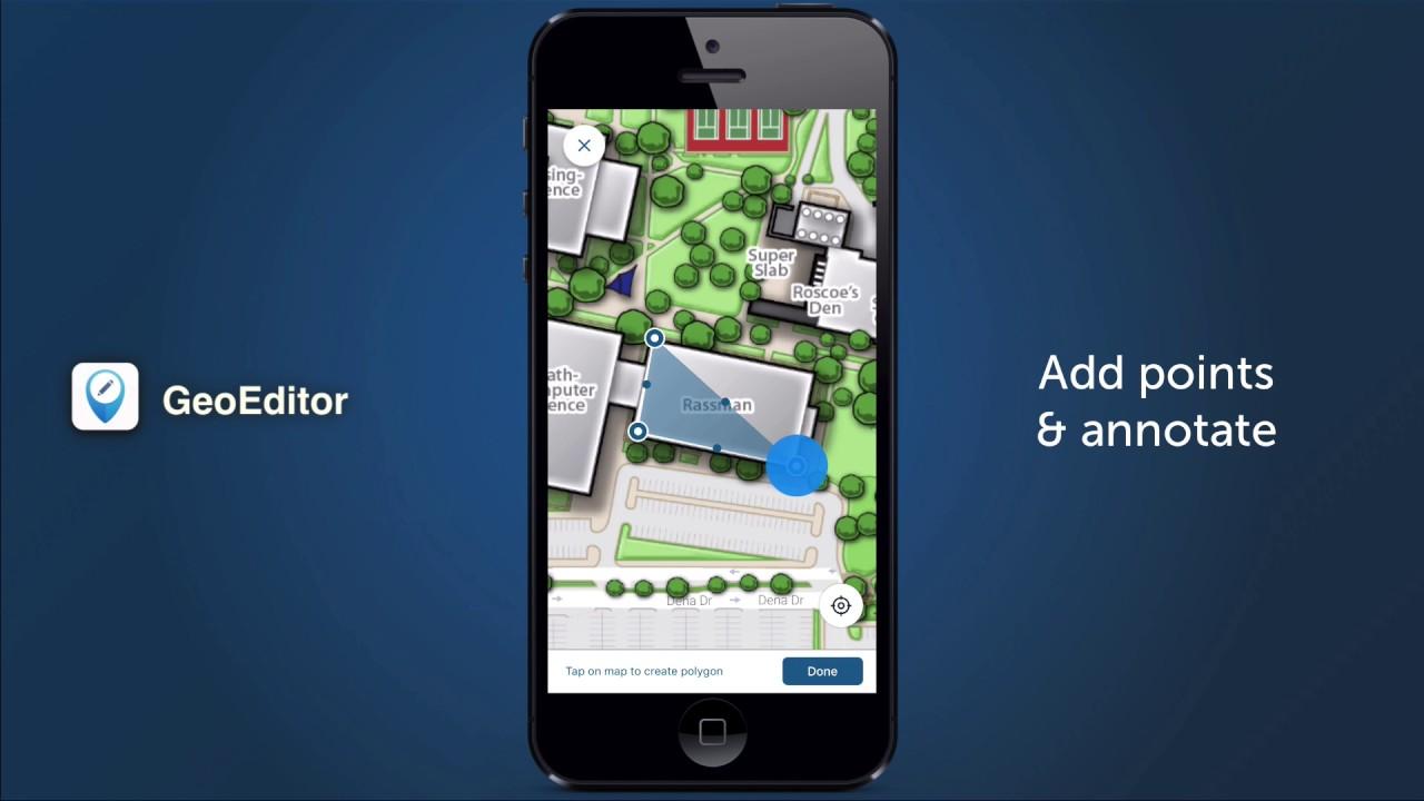 GeoEditor Mobile App