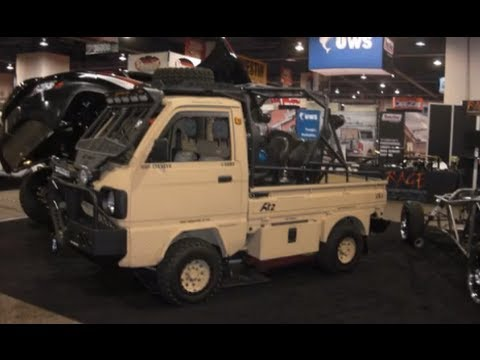 Sema Suzuki Carry Micro Bug Out Vehicle Youtube