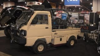 SEMA: Suzuki Carry micro bug out vehicle