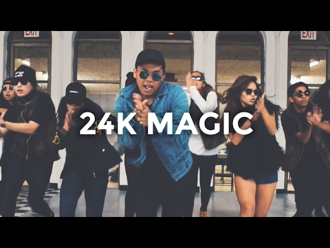 24K Magic - Bruno Mars (Dance Video) | @besperon...