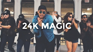 24K Magic - Bruno Mars (Dance Video) | @besperon Choreography #24KMagic @BrunoMars