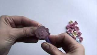 Learn to Quill Spiral Roses - Quilled Creations