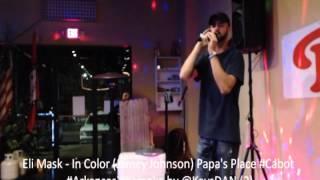 Eli Mask   In Color Jamey Johnson Papa's Place #Cabot #Arkansas #Karaoke by @KeysDAN 2