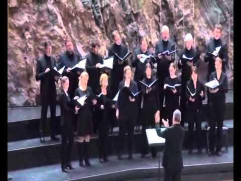 Collegium Vocale Livemitschnitt Konzert Felsenkirche Helsinki 1. April 2016