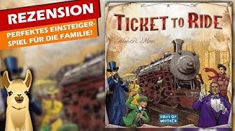 Zug um Zug  / Spiel des Jahres 2004 / Anleitung & Rezension / SpieLama