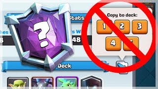 ULTIMATE CHAMPION WITHOUT COPYING DECKS   Clash Royale