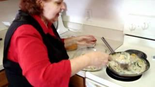 Creamy Garlic Squash-erole