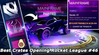 Best Crates Opening Rocket League #46