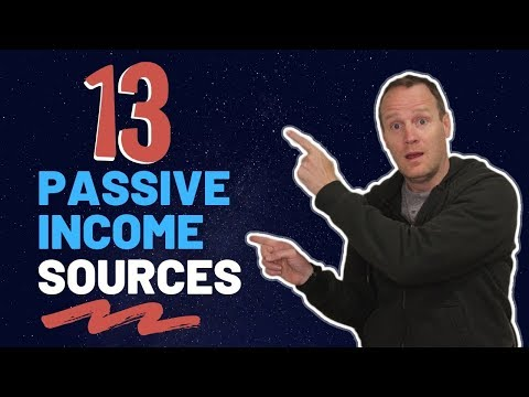 Passive Income Streams: My 13 Sources of Monthly Income