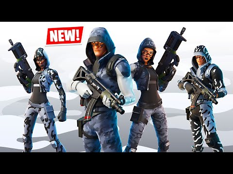 New Permafrost Skins + Solo Tournament! (Fortnite Battle Royale)