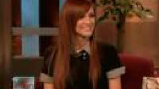 Ashlee Simpson interview on Ellen DeGeneres Show