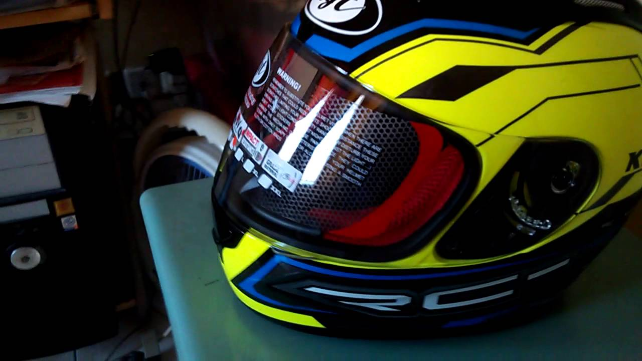 Helm KYT RC 7 Yellow Fluo