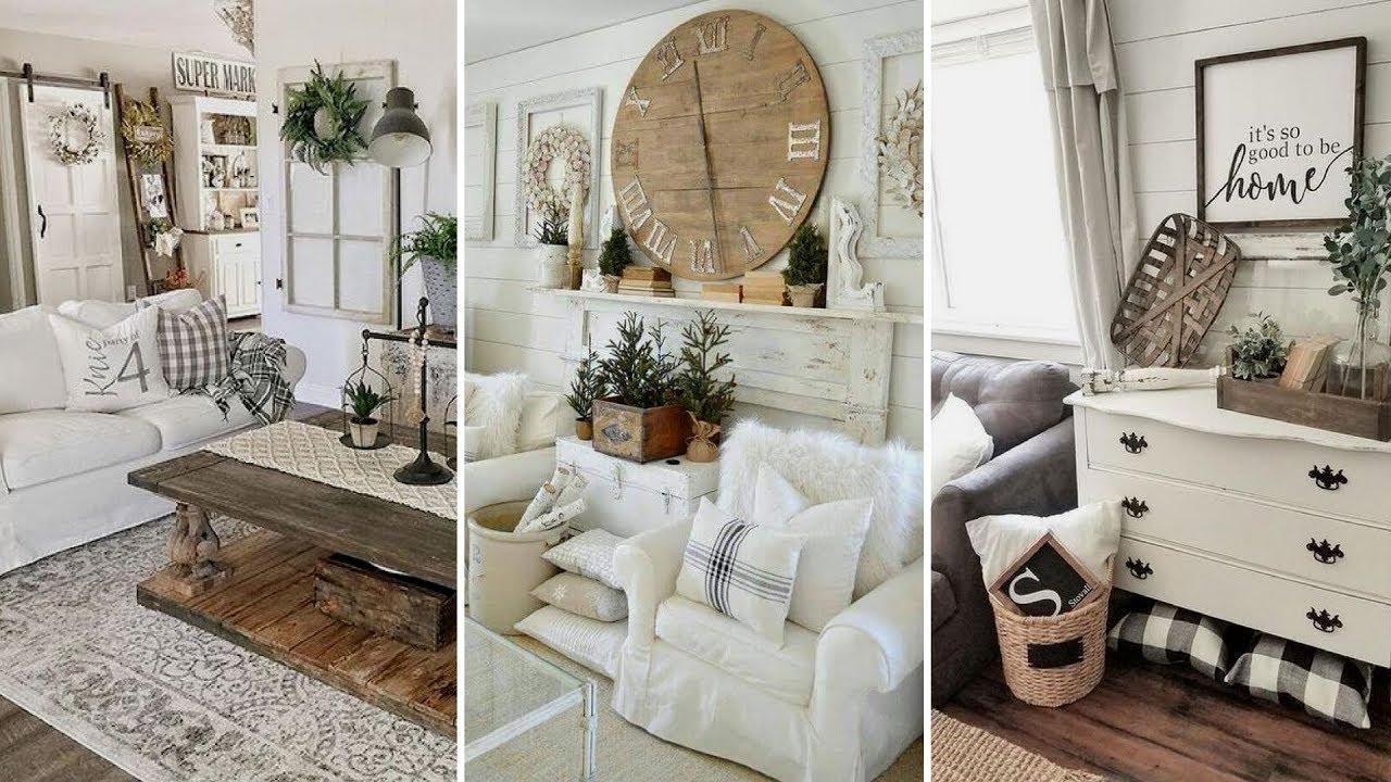 Diy Chic Style Modern Farmhouse Living Room Decor Ideas