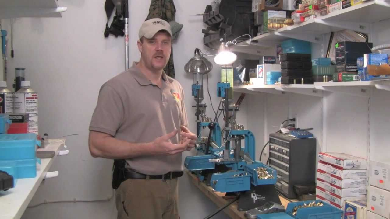 Reloading: Getting started with Dillon Presses