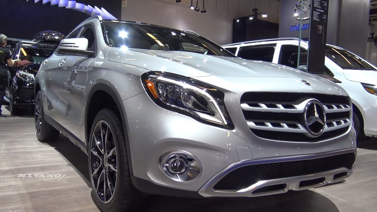 2018 Mercedes GLA-250 SUV - Exterior And Interior ...