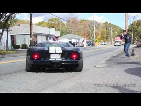 700HP Ford GT Full-Throttle Acceleration w/ wheelspin