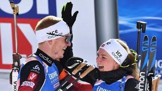 World Championships Biathlon 2020 Single Mixed Relay