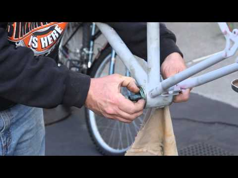 American Bottom Bracket - Crank Conversion Part 2.1 - BikemanforU Repair