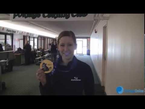 Olympic Curler Champ Kaitlyn Lawes In Portage La Prairie