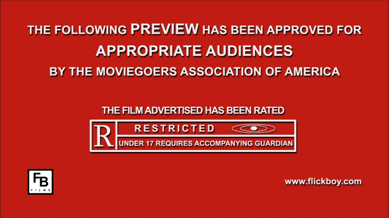the following film has been rated r - youtube