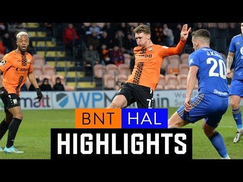 Barnet Halifax Goals And Highlights