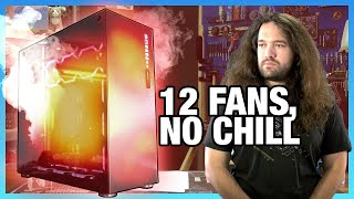 12 Fans, 0 Airflow: One of the Worst Cases We've Reviewed | Abkoncore Ramesses 780