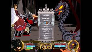 AQ | Adventure Quest | Battleon | Limkragg & Udorian Challenge Boss Fight