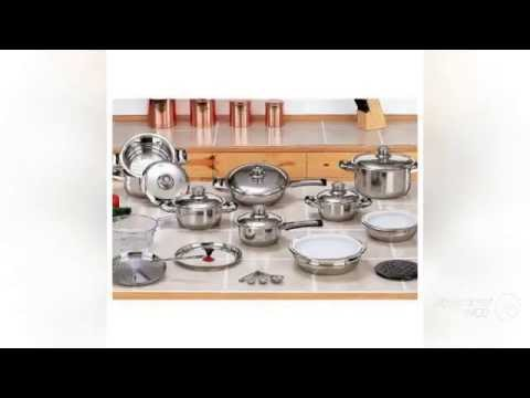 T304 Surgical Stainless Steel Waterless Cookware Set New