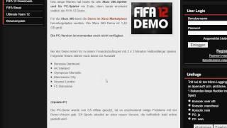 Fifa 12 [PC] Demo - Halbzeitlänge verändern - Tutorial
