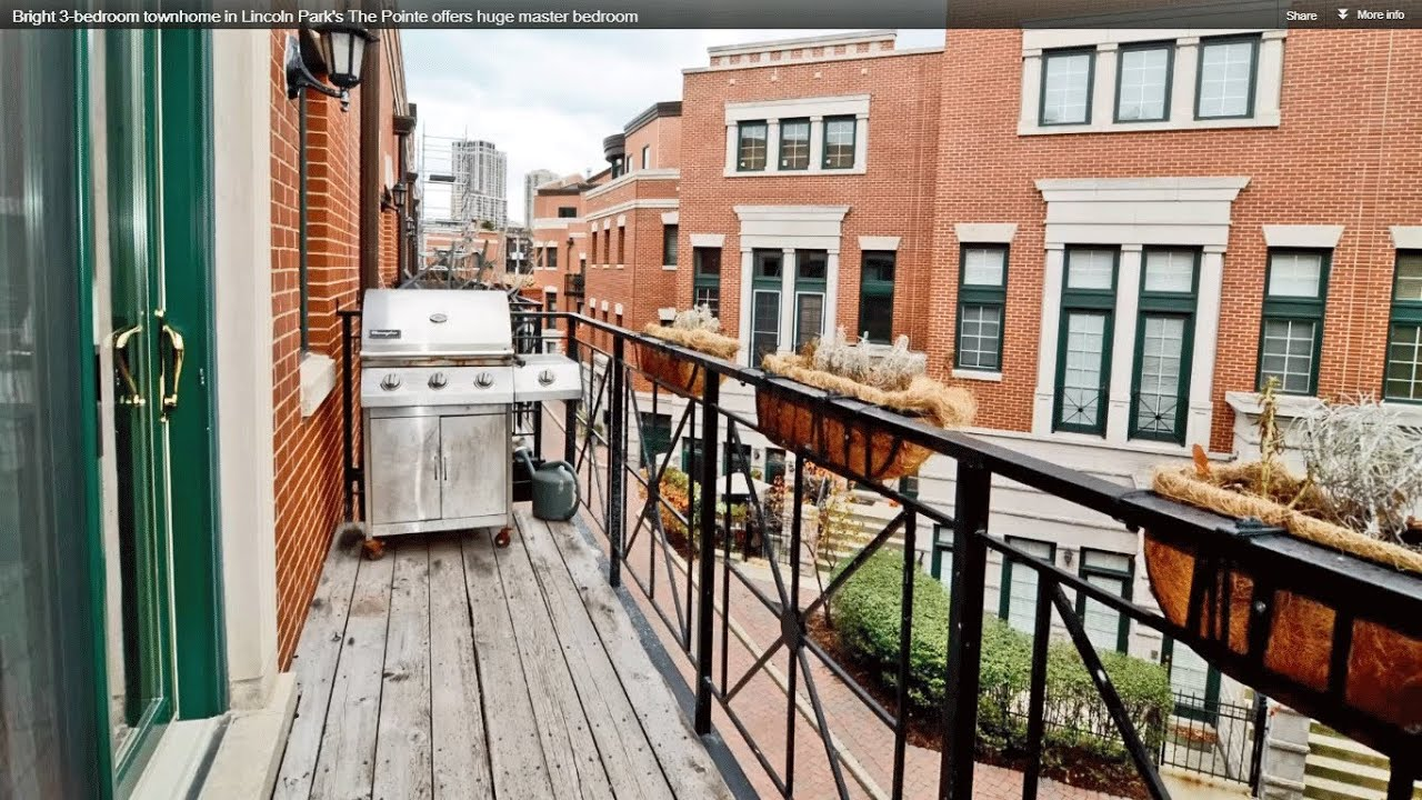 Bright 3 bedroom townhome in lincoln park 39 s the pointe for The pointe at lincoln park