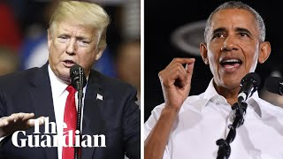 Obama attacks Trump at midterm rally without ever naming him