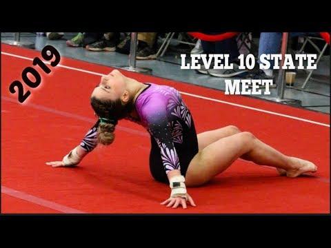 Level 10 Maryland State Gymnastics Meet 2019