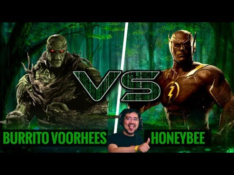 THE GREEN TAKES ON THE SPEED FORCE IN A FT10! Burrito Voorhees (Swamp Thing) vs HoneyBee (Flash)