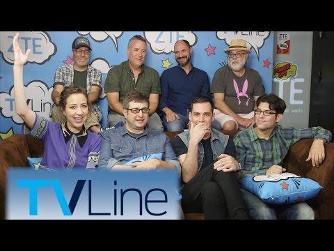 Bob's Burgers Interview  | TVLine Studio Presented by ZTE | Comic-Con 2016