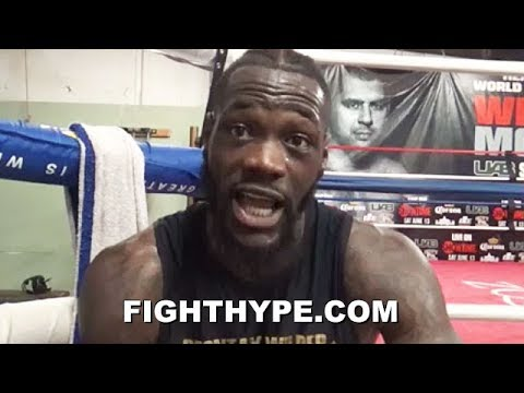 "DEONTAY WILDER CHECKS CRITICS OF HIS ""NEW"" STYLE; EXPLAINS WHY NO CONCERN ABOUT WINNING ROUNDS"