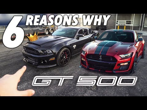 Here's Why The LAST Shelby GT500 Is BETTER Than The New 2020 GT500!