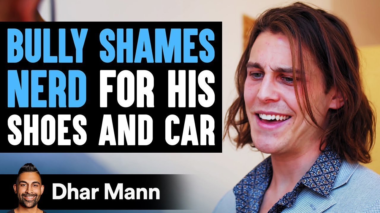 Download Bully Shames Nerd For His Shoes & Car, He Lives To Regret It | Dhar Mann