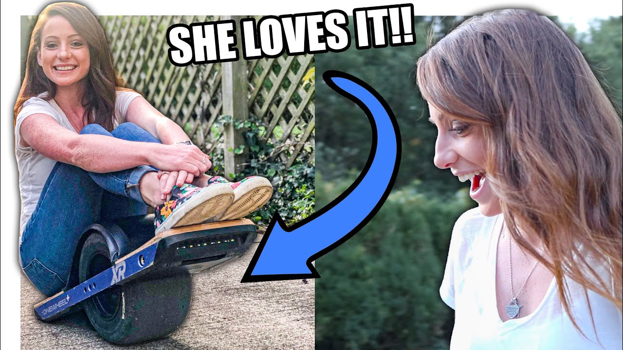 Alexis's First Onewheel! | Buying A Used Onewheel XR | She loves it!!