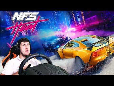 Need for Speed Heat - КУПИЛ ПЕРВУЮ МАШИНУ и ЕДУ НА ГОНКИ - ПЕРВЫЙ ВЗГЛЯД НА Need for Speed Heat