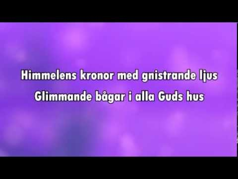 Jul jul, strålande jul (karaoke - lyrics)