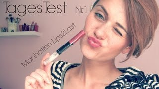 MM #22: Follow my LIPS - Manhattan Lips2Last Lippenduo