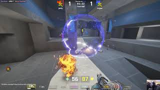 Unreal Tournament 2017 PC CTF Killing Spree gameplay