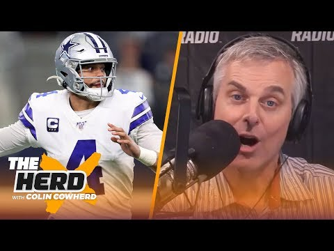 Colin on Dak potentially negotiating long-term deal & importance of maturity at QB | NFL | THE HERD