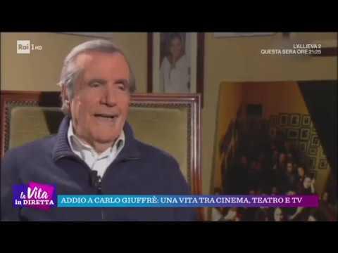 Addio a Carlo Giuffrè: una vita tra cinema, teatro e Tv - La vita in diretta 01/11/2018