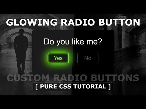 How To Create Custom Radio Buttons Using Html And CSS