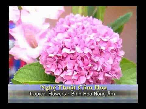 VNTV Flowers Arrangements - Bình Hoa Chủ Đề Nồng Ấm