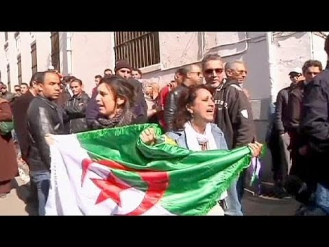 Protests over 77-year-old Bouteflika's re-election bid in Algeria