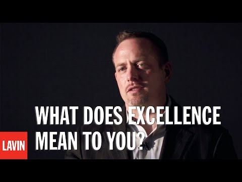 College Speaker Dan Lerner: What Does Excellence Mean To You?