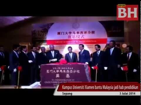 Kampus Universiti Xiamen bantu Malaysia jadi h pendidikan